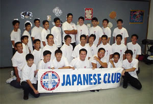 セントルイス高校・日本語クラブ生徒が勢ぞろい